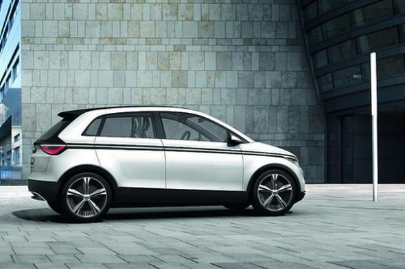 Электромобиль Audi A2 E-tron