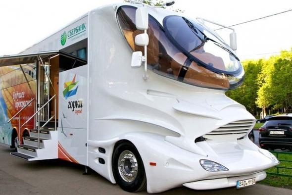 инновационный автобус «Горки-Город»
