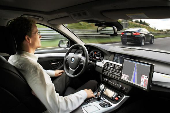 Электромобиль снабдят автопилотом