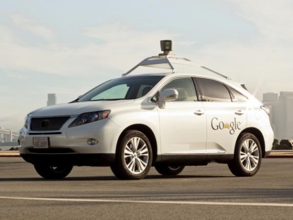 Автомобиль Google без водителя