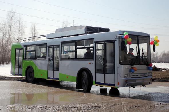 Электробус Новосибирска