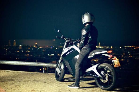 электромотоцикл BCN City