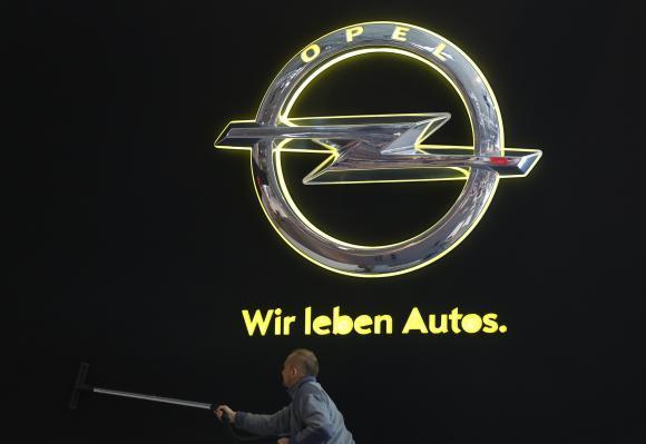 Электромобиль Opel