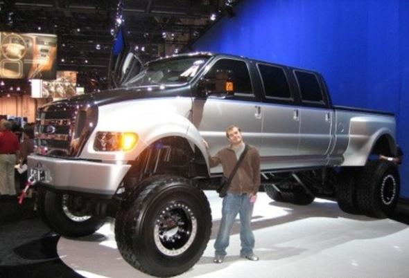 Большие размеры авто