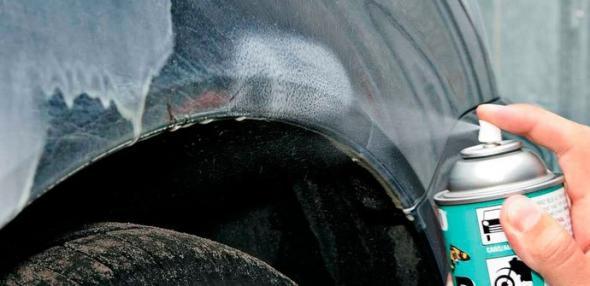 Как удалить пятна от битума с автомобиля