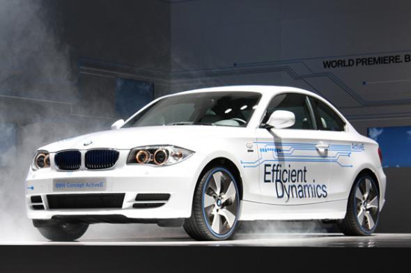 Электромобиль ActiveE от BMW