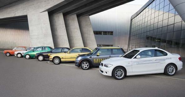 Электромобиль BMW 1602 до i3