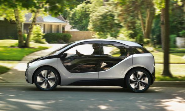 Электромобиль BMW i5
