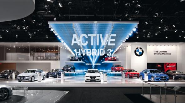 Моторшоу в Детройте: новинки от BMW