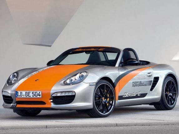 Porsche выпускает электромобиль Boxter