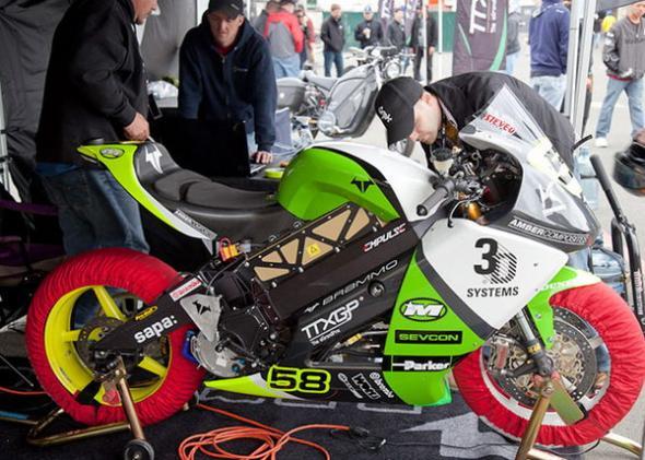 Brammo и гонки на электромотоциклах