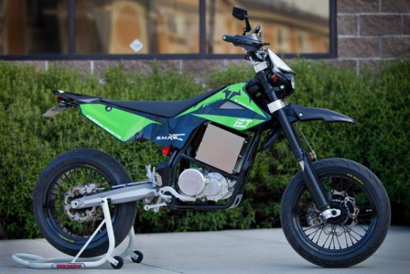 электромотоцикл с коробкой передач