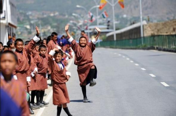 Электромобиль в Бутане