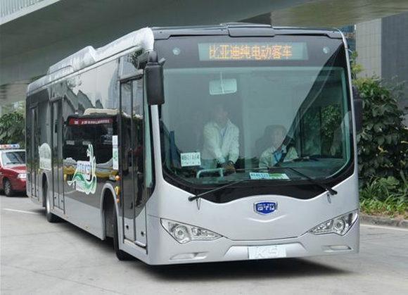 BYD электроавтобусы