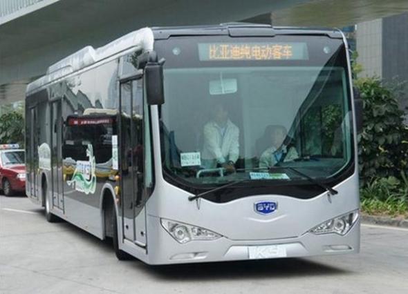 BYD делает в Болгарии электроавтобусы