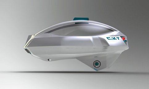 C.A.T - надводный электромобиль