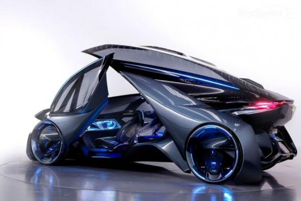 General Motors автомобиль будущего Chevrolet-FNR