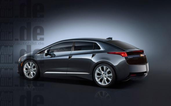 Электромобиль Chevrolet Volt 2015