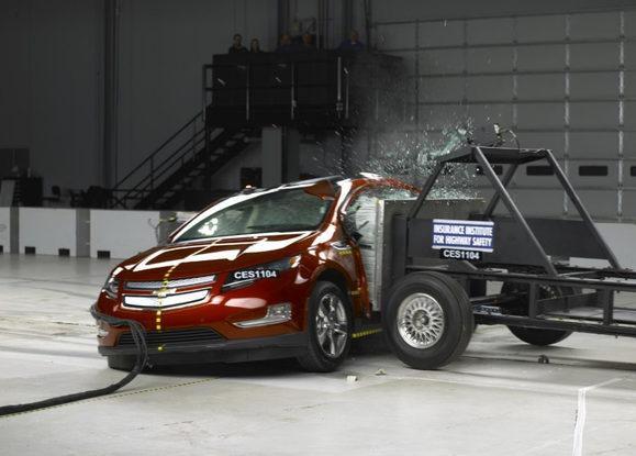 Краш-тест Chevrolet Volt