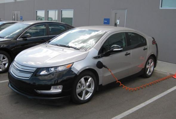 Электромобиль Chevy Volt