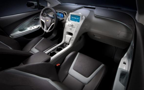 Электромобиль Chevrolet Volt