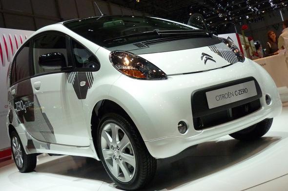 Электромобиль Citroen C-ZERO