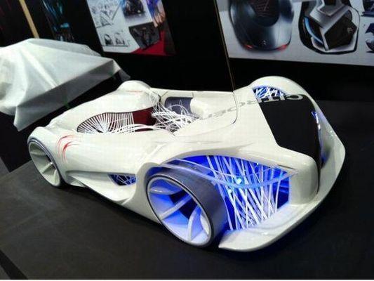 Электромобиль концепт-кар Citroen Metronest
