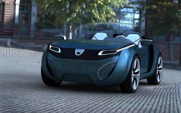 Dacia электромобиль