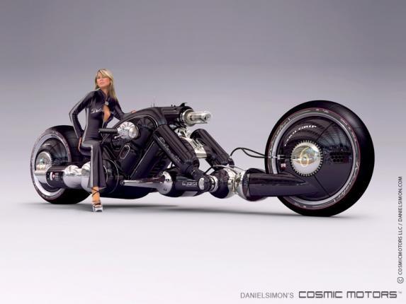 Электромотоцикл Cosmic Motors Detonator