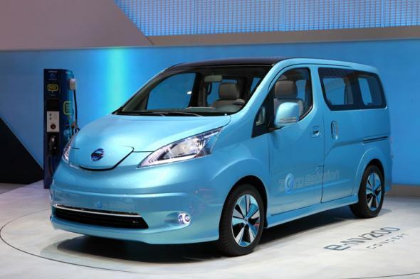 Электромобиль e-NV200 от Nissan