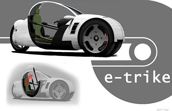 Электромобиль ETrike