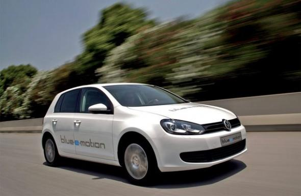 Электромобиль E-Golf Volkswagen
