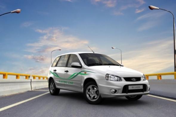 Электромобиль на Ставрополье