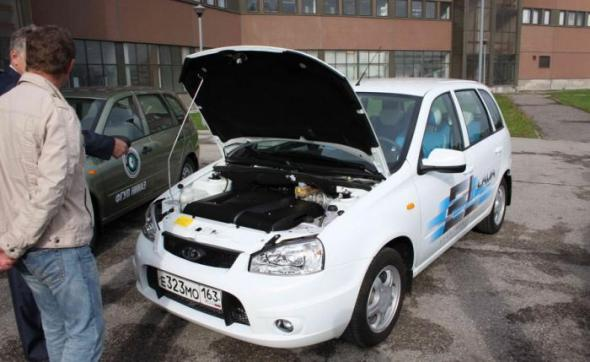 Электромобиль из России Эллада