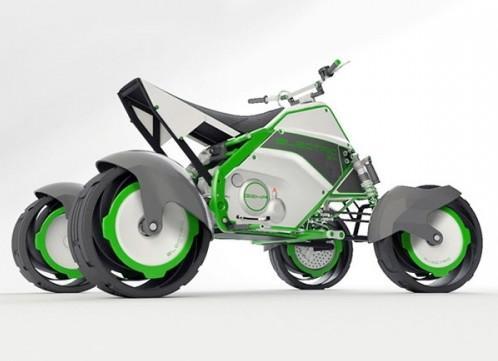 Электрический квадроцикл QUAD