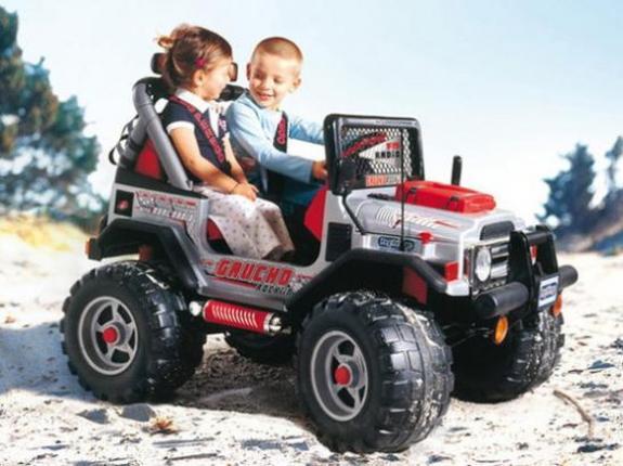 Дети и электромобиль