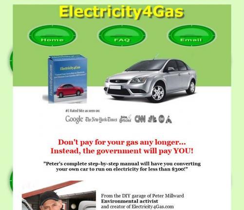 Создание электромобиля с помощью руководства Electricity4Gas