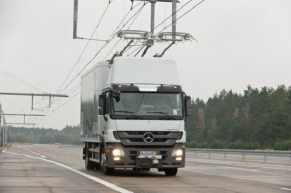 Электромобиль Siemens