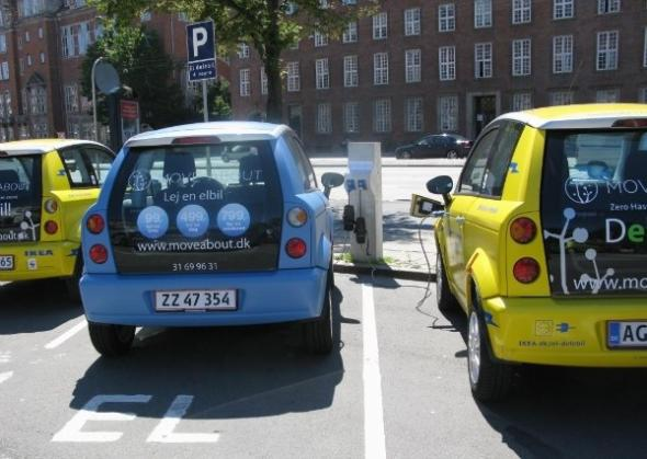 Электромобили в Литве