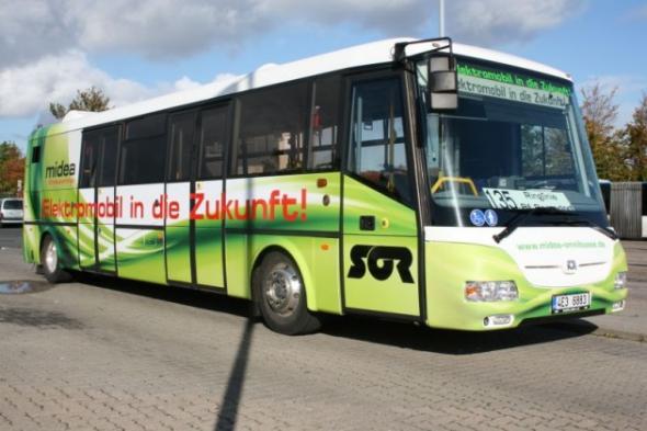 В столице электробусы