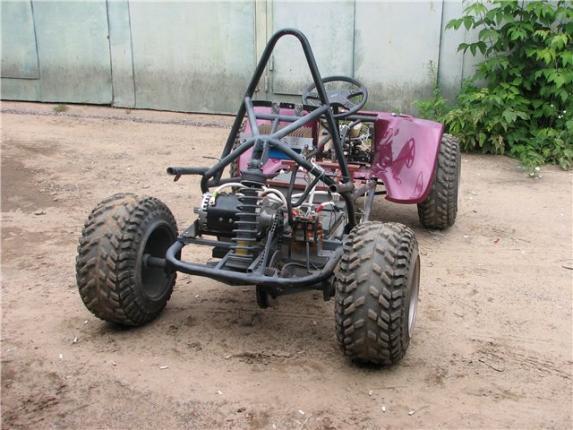 Самодельный электромобиль багги