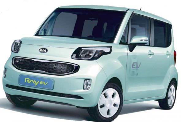 Электромобиль Kia Ray EV