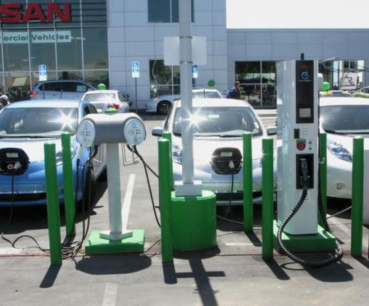 заправочная станция для электромобилей