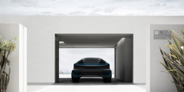 Электромобиль Faraday Future