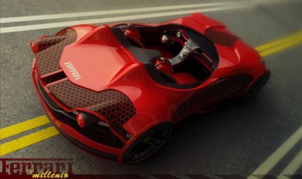 Электромобиль Ferrari Millennio