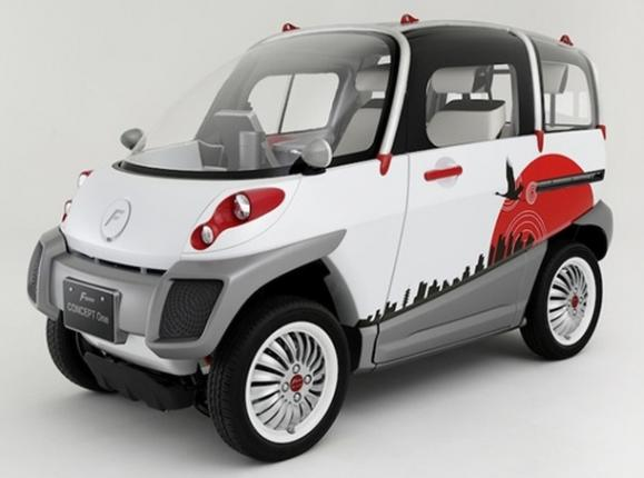Электромобиль Fomm Concept One