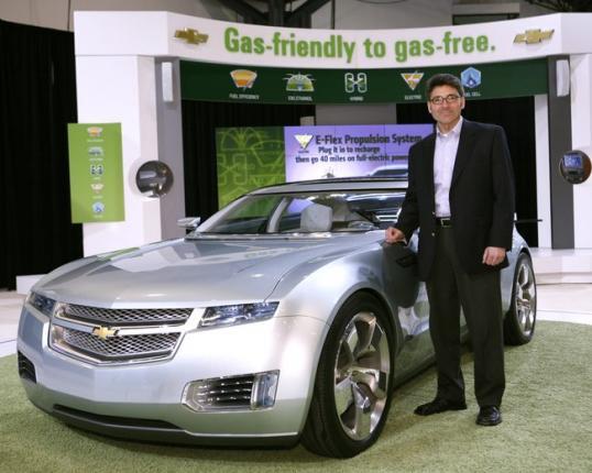 General Motors разрабатывает электромобили