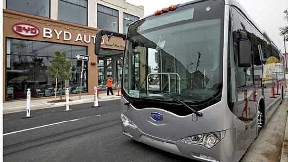 Китайские электробусы GreenCity