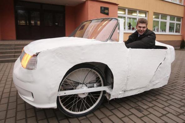 собственный электромобиль