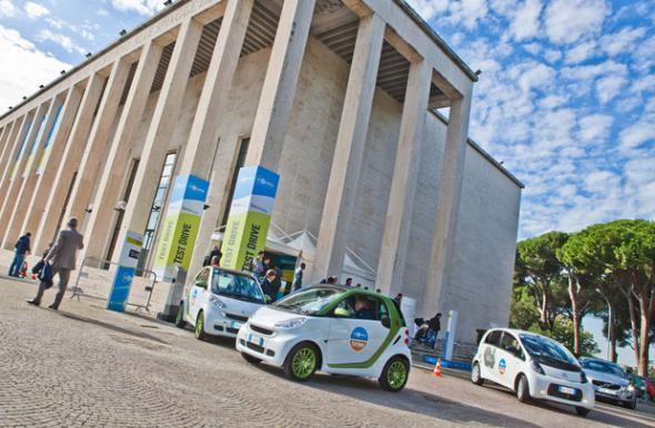 Enel открыла сеть заправочных станций для электромобилей